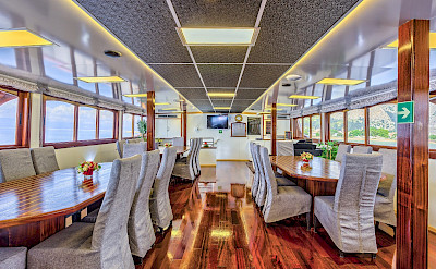 Dining Room on the Melody - Bike & Boat Tours
