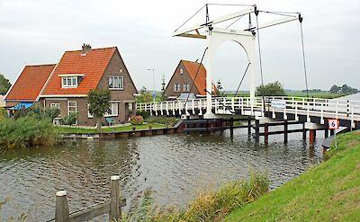 Biking through Edam, North Holland, the Netherlands. Flickr:Dennis Jarvis
