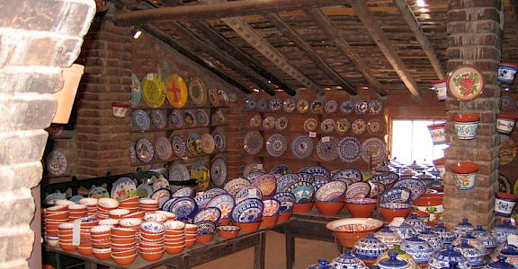 Famous pottery village of San Pedro do Corval, Alentejo, Portugal. Photo courtesy of TO