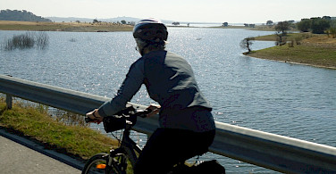 Cycling along Guadiana River, Alentejo, Portugal. Photo courtesy of TO