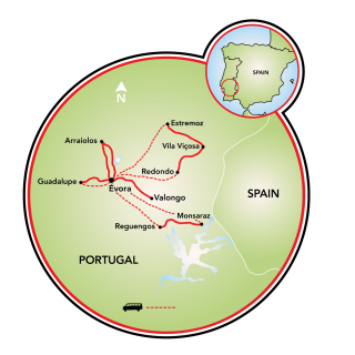 Paradise in Portugal Map