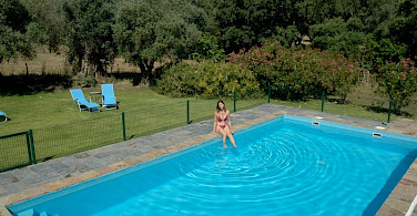Poolside at your farmhouse. Alentejo, Portugal. Photo courtesy of TO