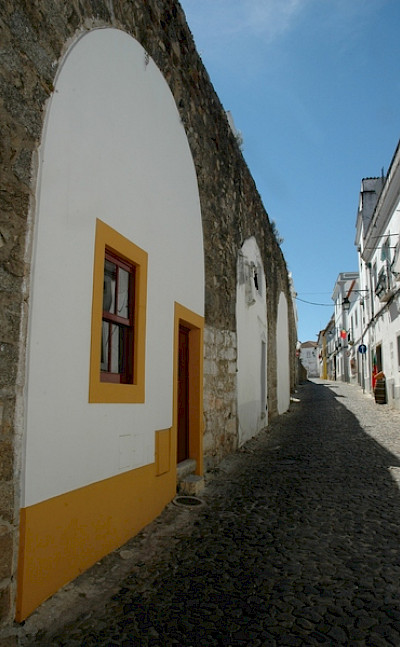 Local cobbled street. Alentejo, Portugal. Photo courtesy of TO