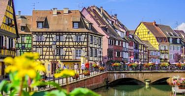 Colmar is <i>capital of Alsatian wine</i>. Photo via Flickr: Kiefer
