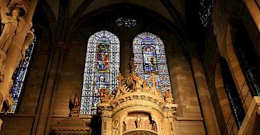 Cathedral in Strasbourg, Alsace, France. Photo via Flickr:Nouhailler