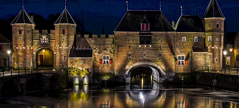 Koppelpoort in Amersfoort, the Netherlands dates to the Middle Ages. Creative Commons:Richy Wiseman