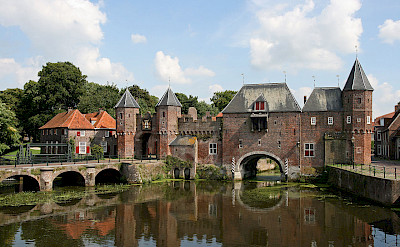 Koppelpoort, the medieval gate in Amersfoort, the Netherlands. Wikimedia Commons:Bert