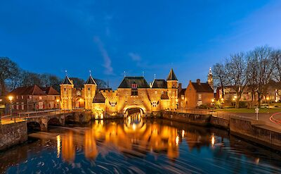 Koppelpoort, a medieval gate from 1425 in Amersfoort, Utrecht. ©Hollandfotograaf