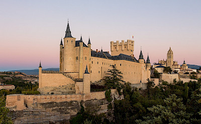 Castle Alcázar de Segovia in Spain. Wikimedia Commons:Rafa Esteve