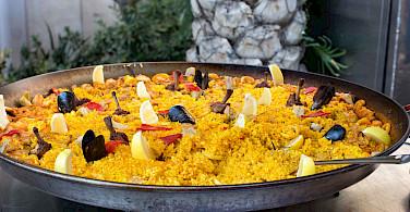 Spain's famous paella - great biking fuel! Flickr:Krista