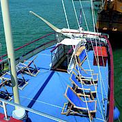 Deck para banho de sol - Leonardo