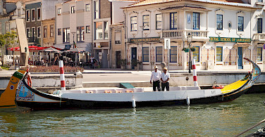 Aveiro in Portugal. Photo via Flickr:Luca Boldrini