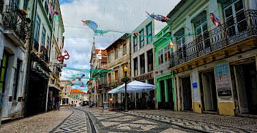 Biking through Aveiro, Portugal. Photo via Flickr:Paul A.-