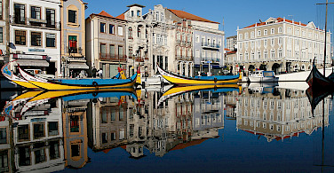 Aveiro Town, Portugal. Photo via TO