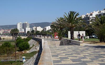 Promenade in Figueira da Foz, Portugal. Photo via Flickr:Pepe Martin