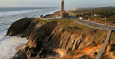 Lighthouse in Sao Pedro de Moel, Portugal. Photo via Flickr:Portugal Property