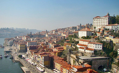 Old City Quarter in Porto on the Douro River, Portugal. Photo via Wikimedia Commons:lacobrigo