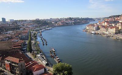Douro River running through Porto, Portugal. Photo via Flickr:Pepe Martin