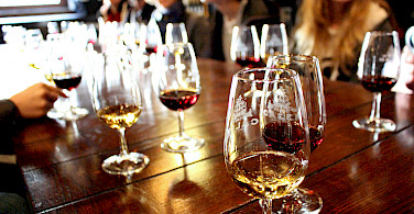 Wine tasting in Porto, Portugal. Photo via Flickr:Emily Jackson