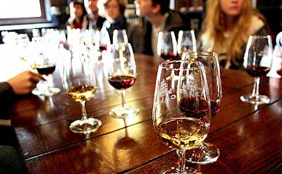 Wine tasting in Porto, Portugal. Photo via Flickr:Emily Jackson