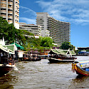 Chao Phraya River boat cruises in Bangkok, Thailand. Photo via Flickr:Bernard Spragg NZ