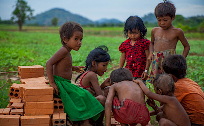 Cambodian children at play. Photo via Flickr:Sodanie Chea