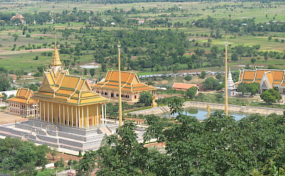 View from a temple in Oudong, Cambodia. Photo via Flickr:Narith5