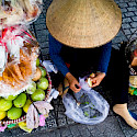 Street fruit in Saigon, Vietnam. Photo via Flickr:Namng