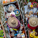 Floating market near Bangkok, Thailand. Photo via Flickr:Georgie Pauwels