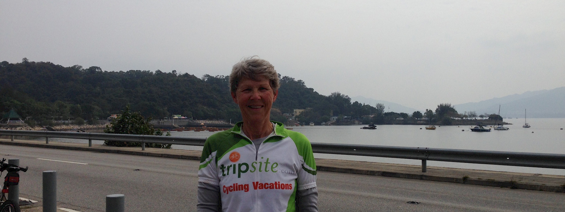Hennie in Hong Kong