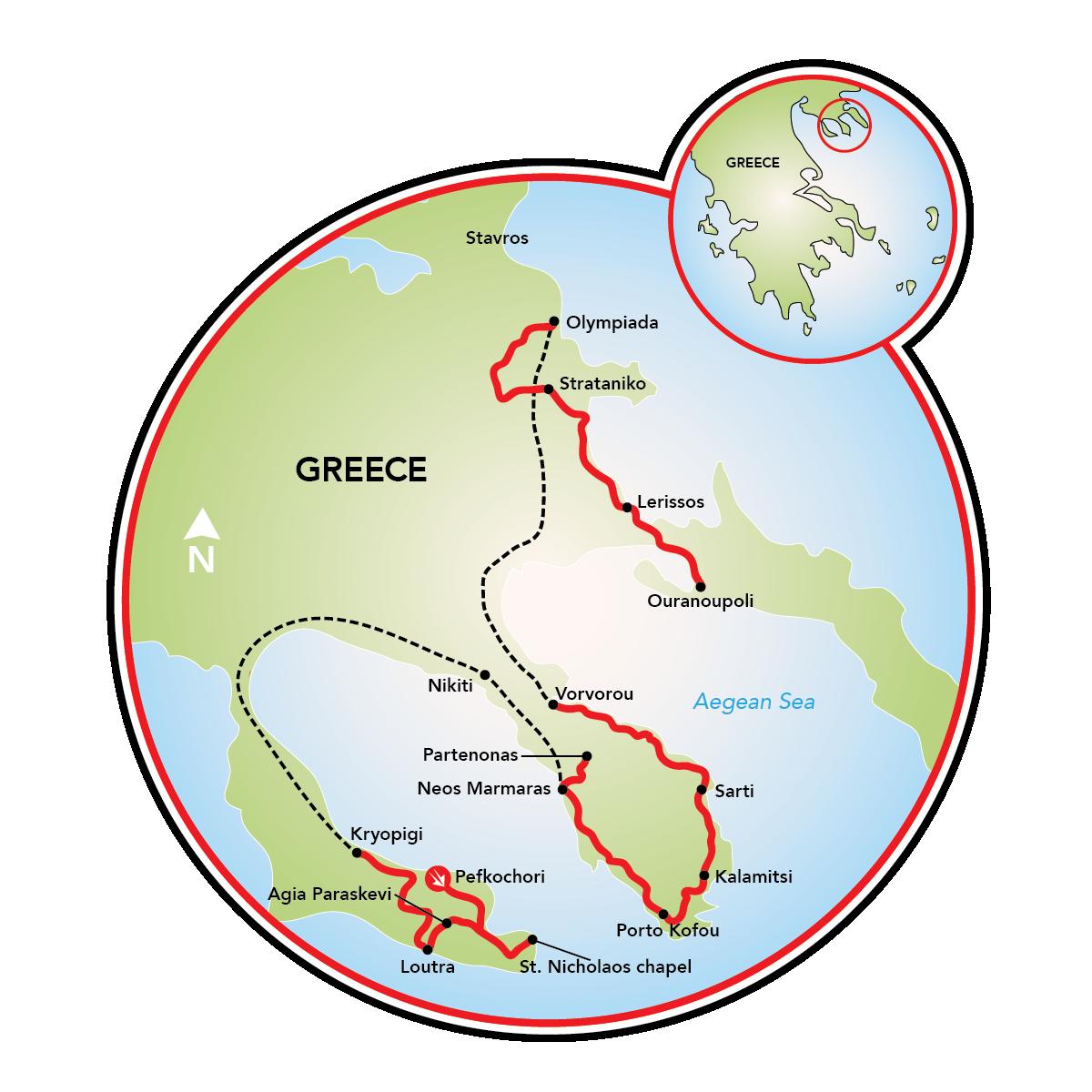 Best of Halkidiki Bike Tour Greece Tripsite