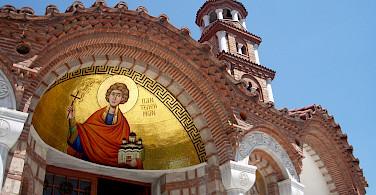 Greek Church in Thessalonika, Greece. Flickr:Louisa Thomson