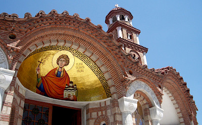 Greek Church in Thessalonika, Greece. Flickr:Louisa Thomson