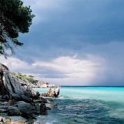 Península de Halkidiki Foto