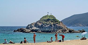 Beach in Sithonia, Greece. Wikimedia Commons:Anton Lefterov