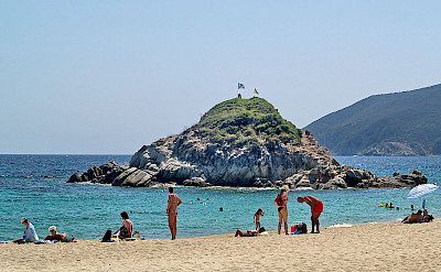 Beach in Sithonia, Greece. Wikimedia Commons:Anton Lefterov