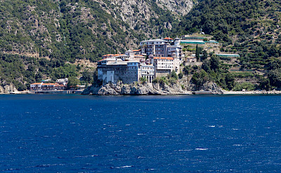 St. Gregory's Monastery on Mt Athos, Halkidiki, Greece. Flickr:Marco Verch