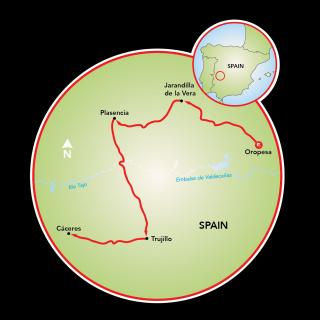 Espanha Terra dos Conquistadores Map
