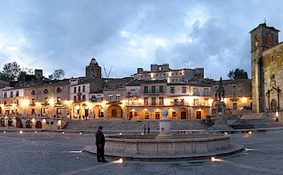 Panorama of Trujillo, Extremadura, Spain. Photo via Flickr:Leandro Neumann Ciuffo