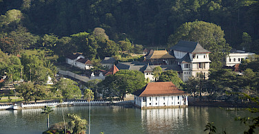 Temple of the Sacred Tooth Relic, part of the royal complex in Kandy, Sri Lanka. Photo via Flickr:Malcolm Browne