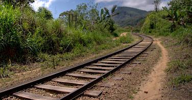 Railroad in Sri Lanka. Flickr:Sean Jackson