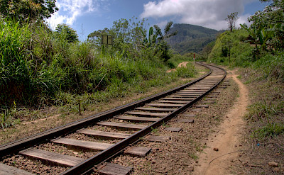 Railroad in Sri Lanka. Flickr:Sean Jackson
