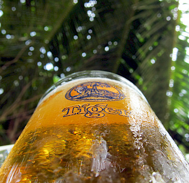 Tiger beer of course in Tangalle, Sri Lanka. Photo via Flickr:Indi Samarajiva