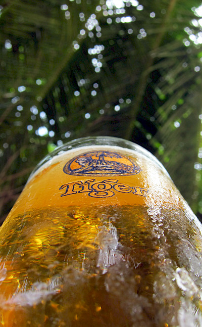 Tiger beer of course in Tangalle, Sri Lanka. Flickr:Indi Samarajiva