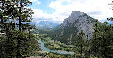Banff in Albera, Canada. Photo via Flickr:thank you for visiting