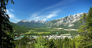 Town of Banff, Alberta, Canada. Photo via Wikimedia Commons:Jiri Eischmann