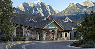 Lake Louise Inn, Alberta, Canada. Photo courtesy of Tour Operator.
