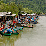 Fishing village of Hua Hin, Thailand. Photo via Flickr:Sam Sherratt