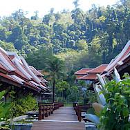 Beach resort in Khao Lak, Thailand. Photo via Flickr:Reinhard Link