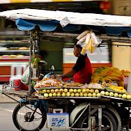 Crazy motorbike traffic in Phuket, Thailand. Photo via Flickr:Thomas sauzedde